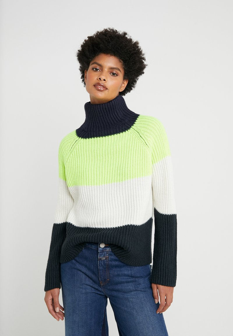 DRYKORN - ARWEN - Sweter - yellow