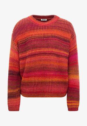 TIMIRA - Pullover - red/multi