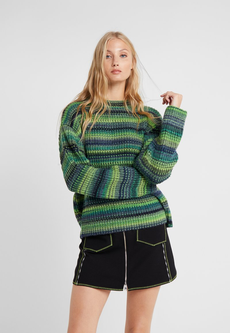 DRYKORN - TIMIRA - Pullover - green/multi