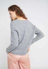 DRYKORN - LINNA - Sweter - grey - 2