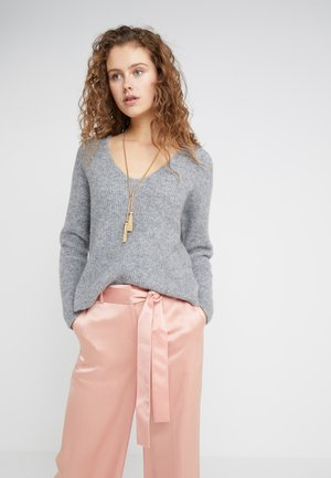 LINNA - Strickpullover - grey