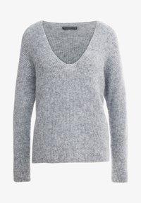 DRYKORN - LINNA - Strikpullover /Striktrøjer - grey - 4
