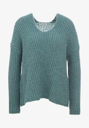 LINNA - Sweter - green