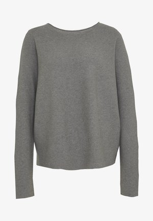 MAILA - Sweter - light grey melange