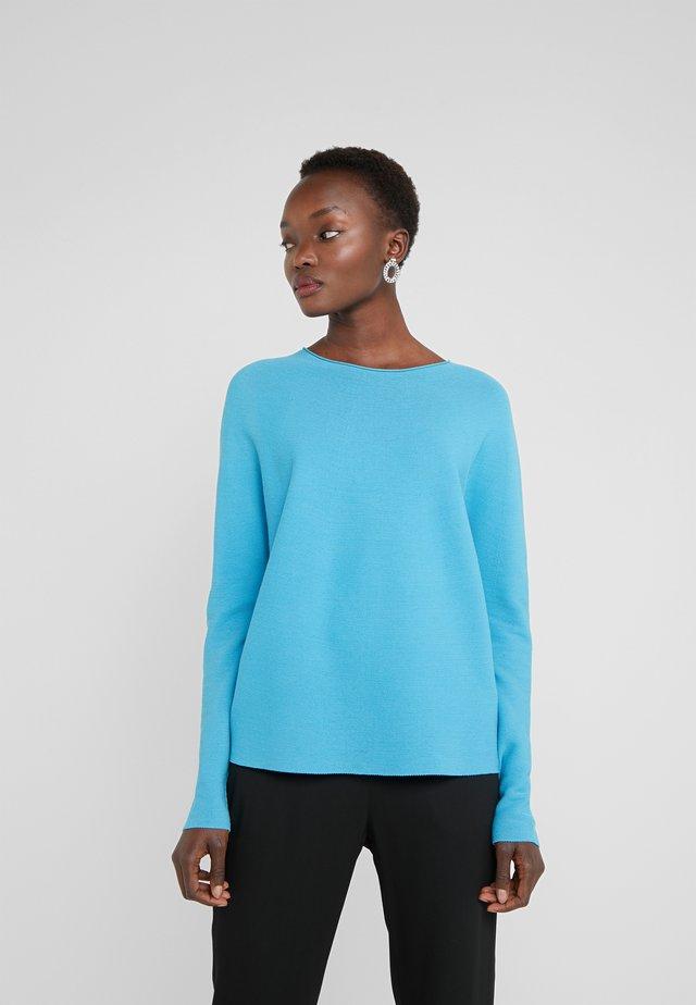 MAILA - Stickad tröja - blue
