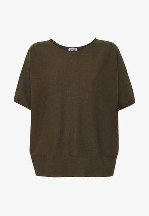 SOMELI - T-shirt basic - oliv