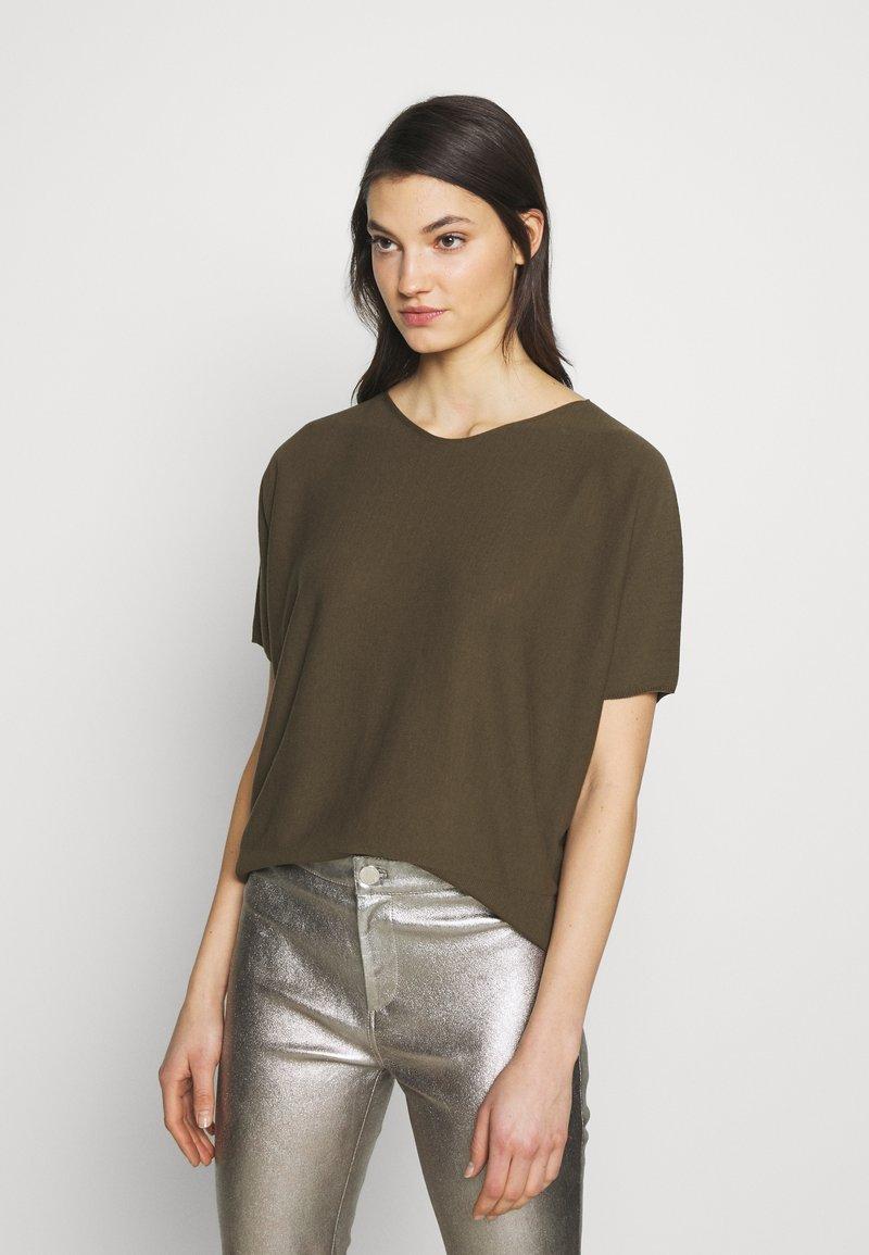 DRYKORN - SOMELI - T-shirt basique - oliv