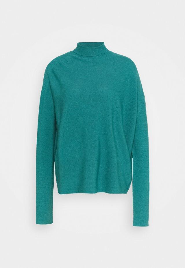 LIORA - Stickad tröja - teal