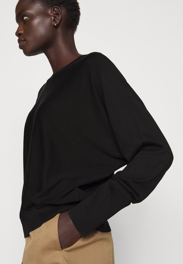 GELI - Strickpullover - black