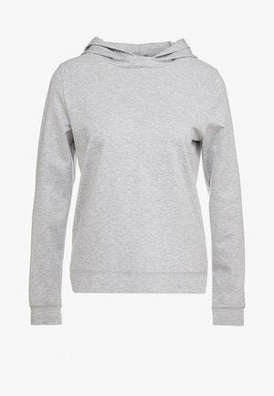 PAPILIA - Sweat à capuche - grey melange