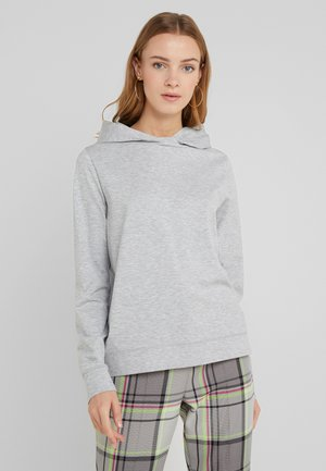 PAPILIA - Sweat à capuche - grey melange