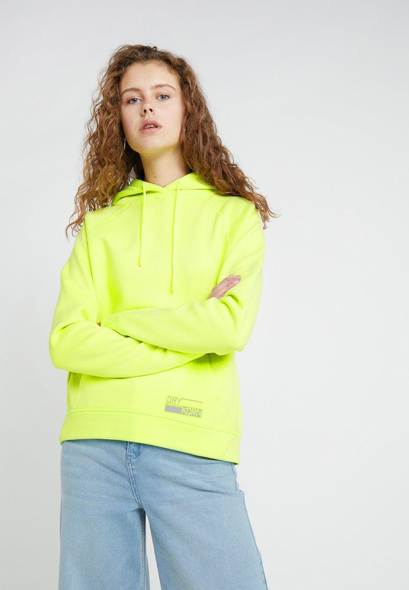 DRYKORN - EMIE - Kapuzenpullover - neon yellow