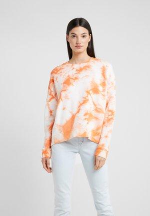 LAISA - Sweatshirt - orange white