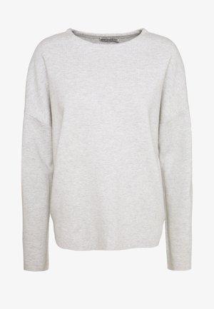 MAILA - Stickad tröja - grau
