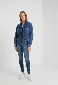 DRYKORN - STRICT - Jeansy Slim Fit - blue - 1