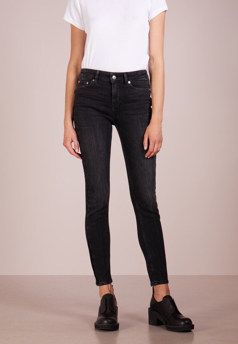 DRYKORN - PULL - Jeansy Skinny Fit - black