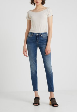 PULL - Jeansy Slim Fit - blue denim