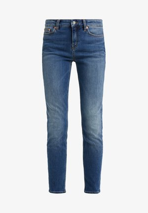 PULL - Jean slim - blue denim