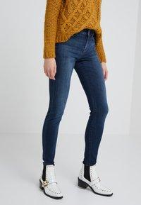 DRYKORN - PULL - Slim fit jeans - blue denim - 0