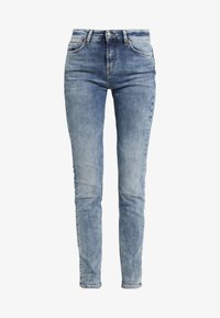 DRYKORN - PULL - Jeansy Slim Fit - mid blue wash - 4