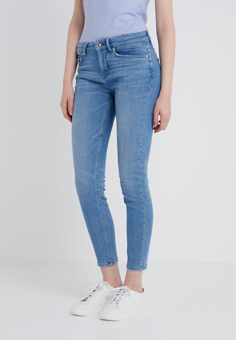 DRYKORN - PULL - Slim fit jeans - blue denim