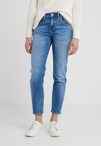 DRYKORN - LIKE - Jean boyfriend - blue denim - 0