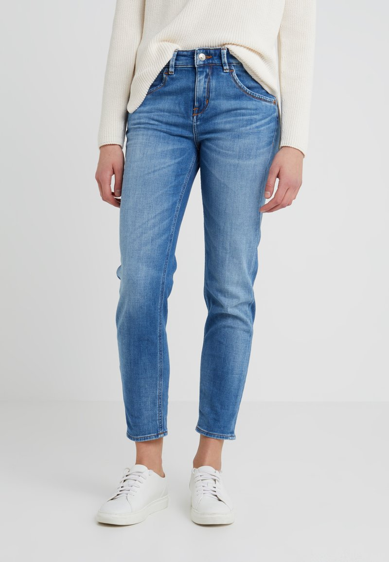 DRYKORN - LIKE - Jean boyfriend - blue denim