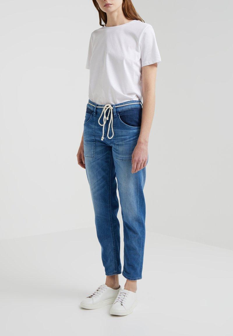 DRYKORN - CUSHY - Relaxed fit jeans - blue denim
