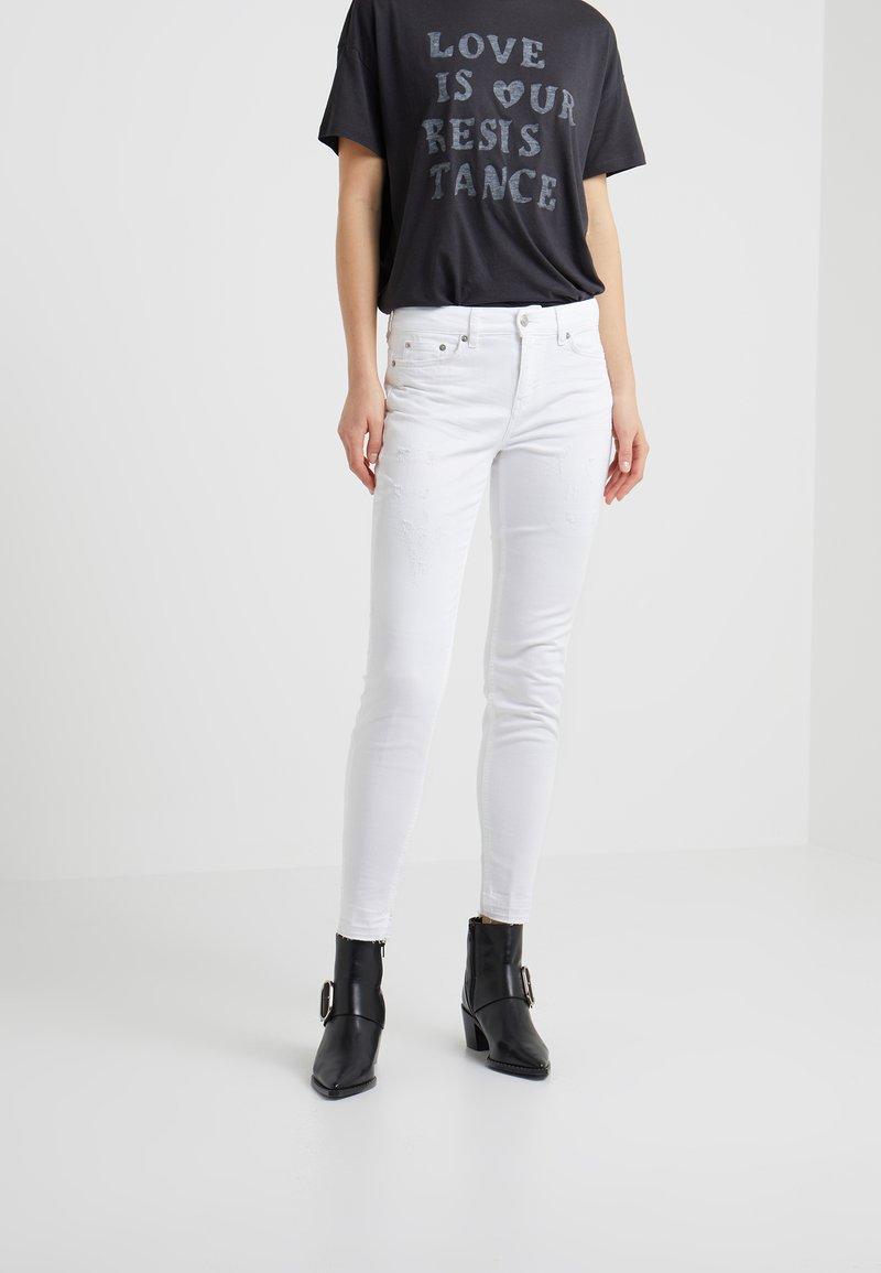 DRYKORN - NEED - Jeans Skinny Fit - white denim