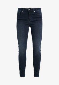 DRYKORN - NEED - Jeansy Skinny Fit - dark blue wash - 3