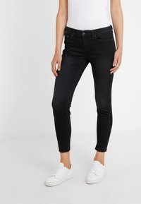 DRYKORN - NEED - Jeansy Skinny Fit - black wahed - 0