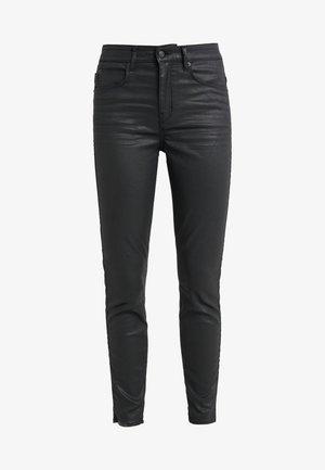 WET - Jeansy Skinny Fit - black