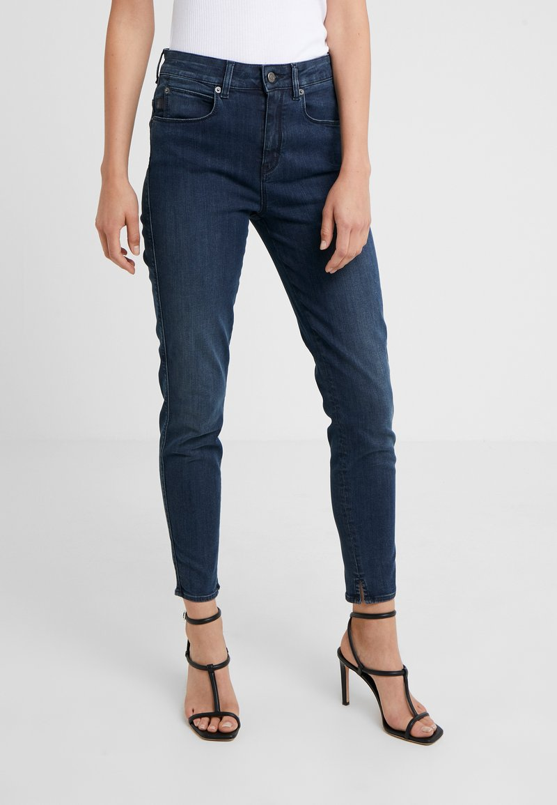 DRYKORN - WET - Jeansy Skinny Fit - mid blue wash