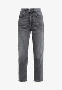 DRYKORN - MOM - Jeansy Relaxed Fit - grey wash - 4