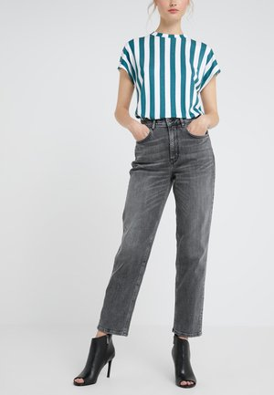 MOM - Jeansy Relaxed Fit - grey wash
