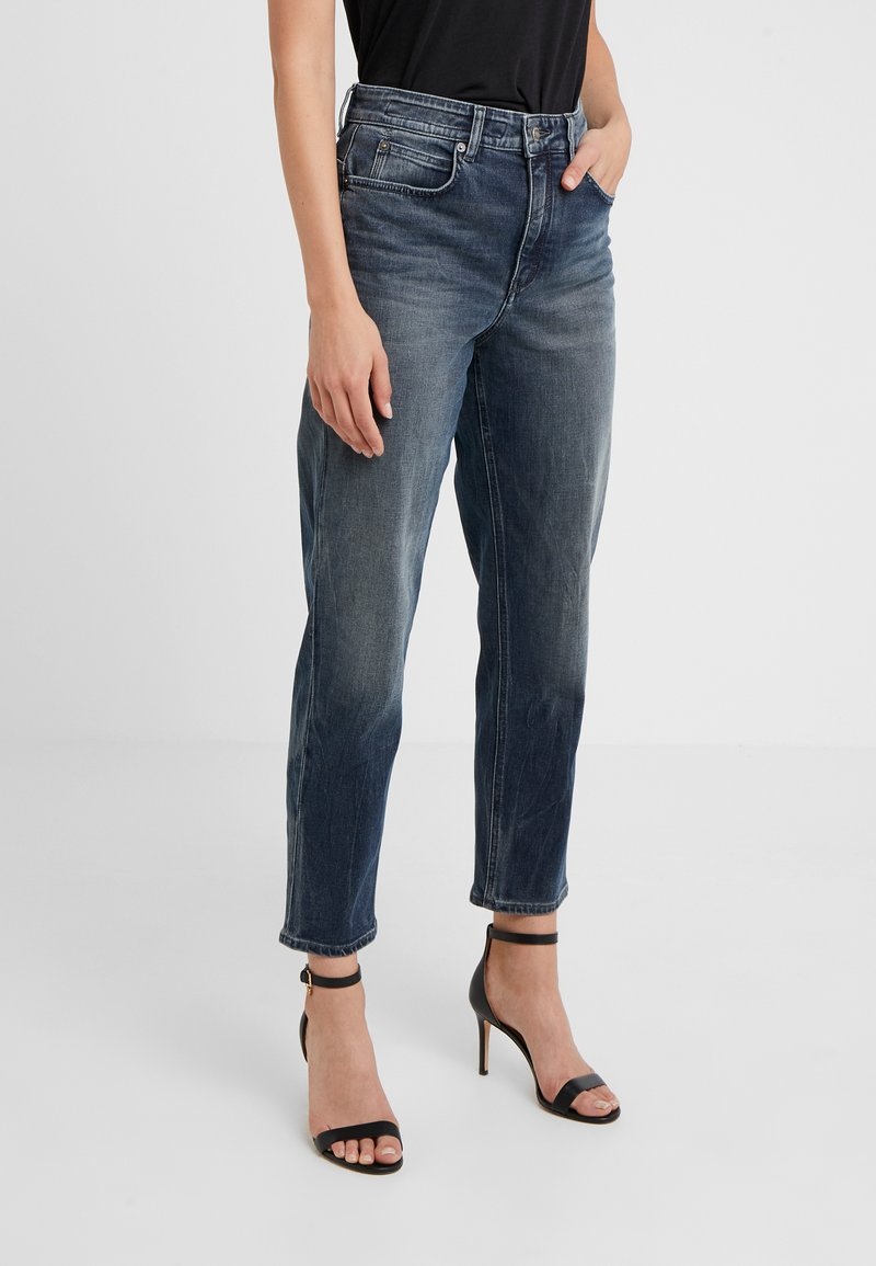 DRYKORN - MOM - Relaxed fit jeans - mid blue wash