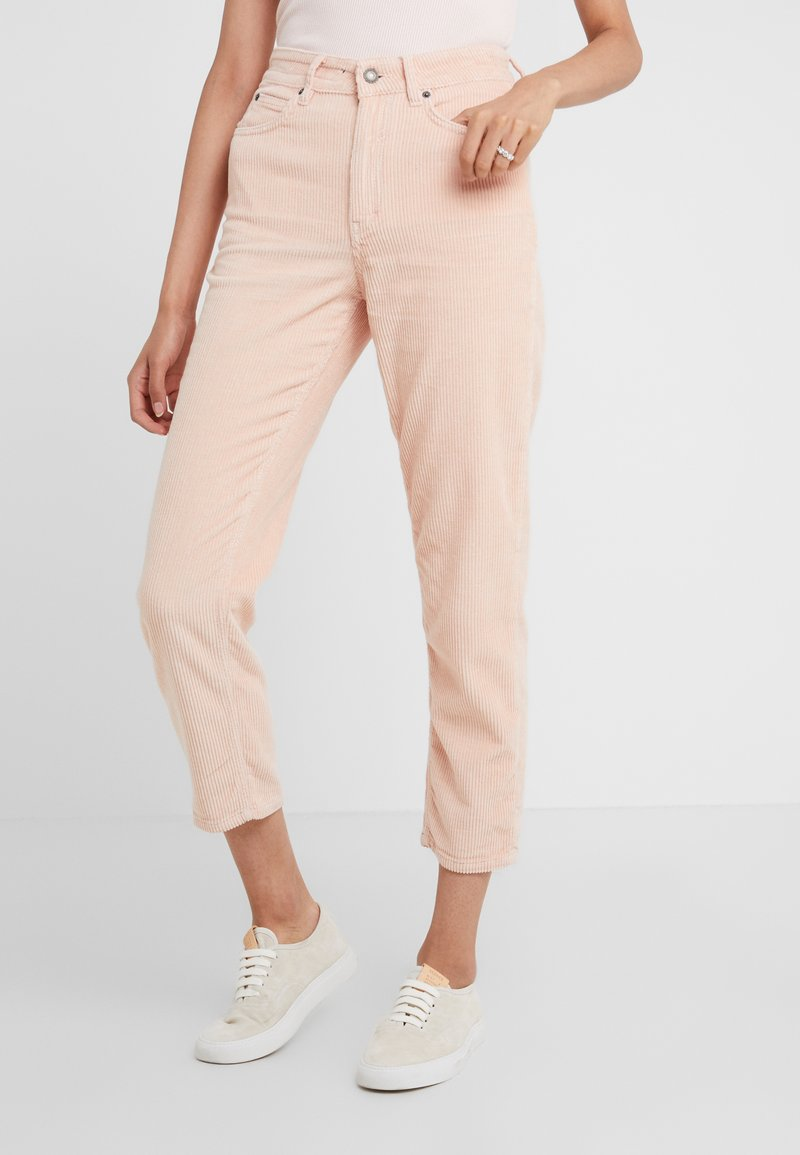 DRYKORN - MOM - Trousers - light pink
