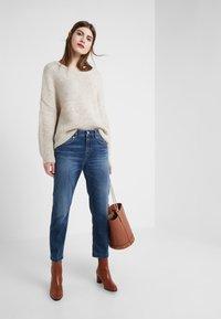 DRYKORN - PASS - Jeans Slim Fit - dark blue wash - 1