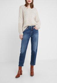 DRYKORN - PASS - Jeans Slim Fit - dark blue wash - 0