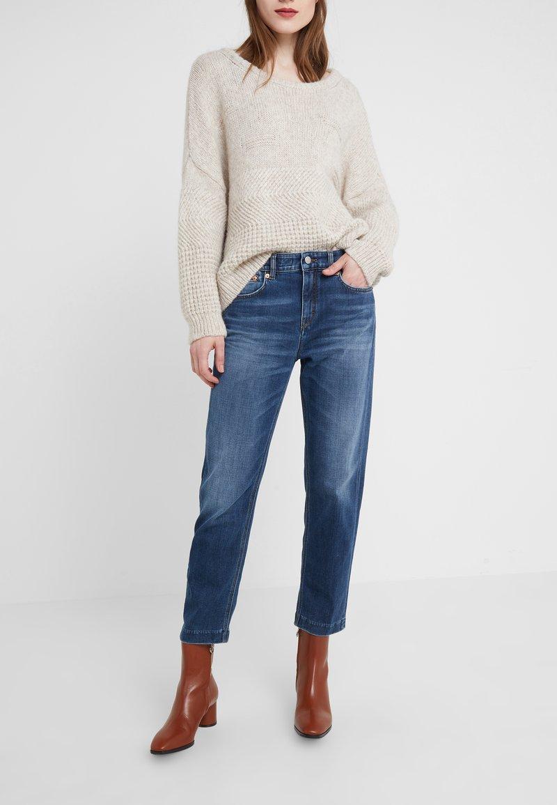 DRYKORN - PASS - Jeans Slim Fit - dark blue wash