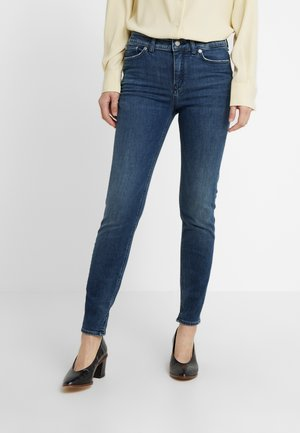 NEED - Jeansy Skinny Fit - dark blue denim