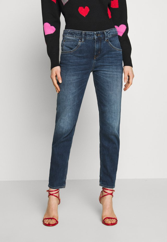 LIKE - Relaxed fit jeans - dark-blue denim