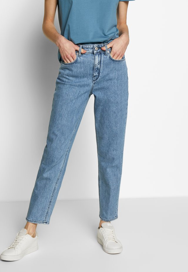 MOM - Jean boyfriend - blue denim