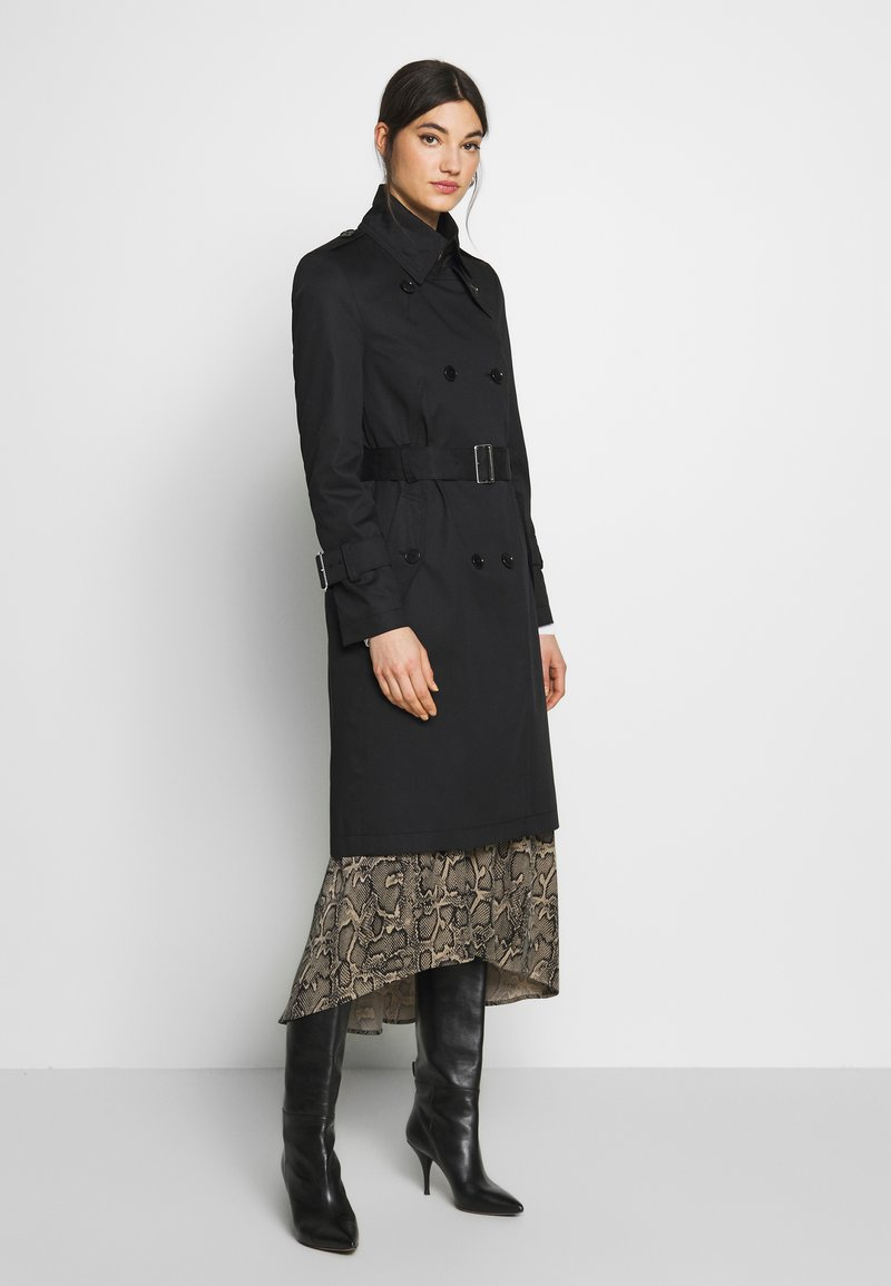 DRYKORN - WENTLEY - Trenchcoat - black