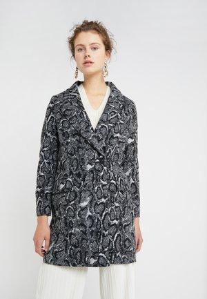 GIRONA - Zimní kabát - black/white
