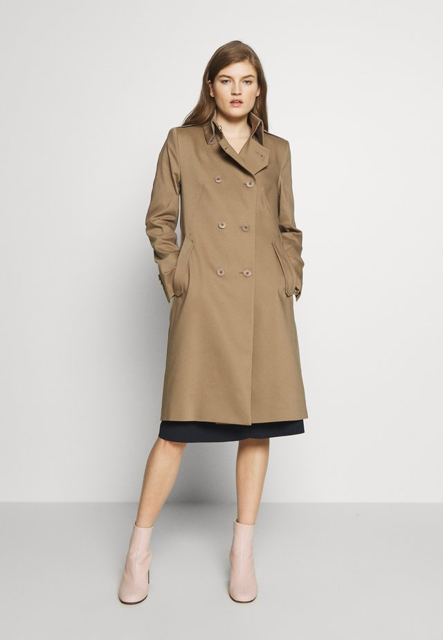 BUCKEY - Classic coat - schlamm