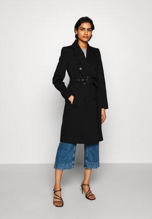 HOLMAN - Classic coat - black