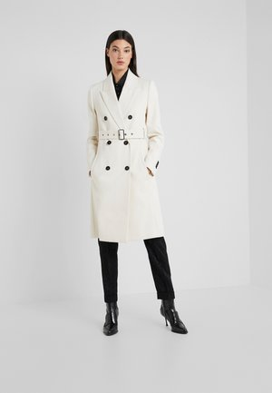 HOLMAN - Trench - offwhite