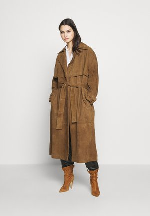 KINLEY - Trench - brown