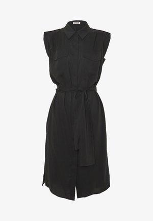 ANIKE - Shirt dress - black